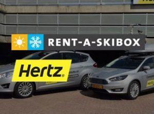 Hertz en rent a skibox
