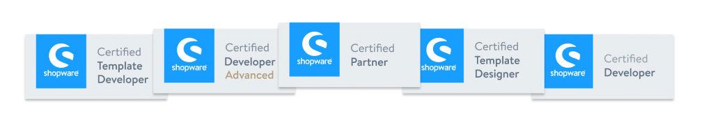 Shopware certificeringen