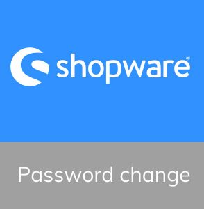 Shopware backend wachtwoord