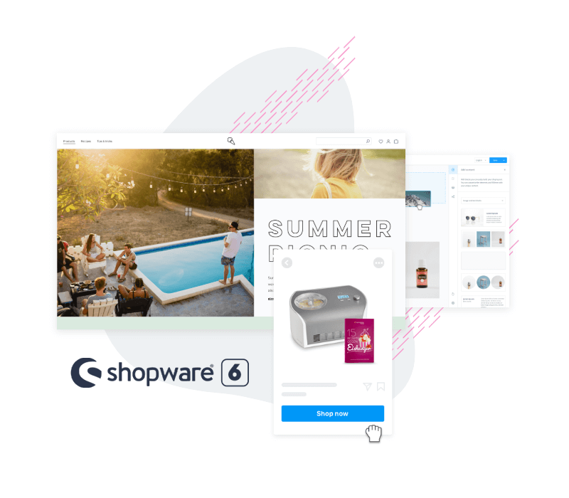 Shopware 6 functionaliteiten